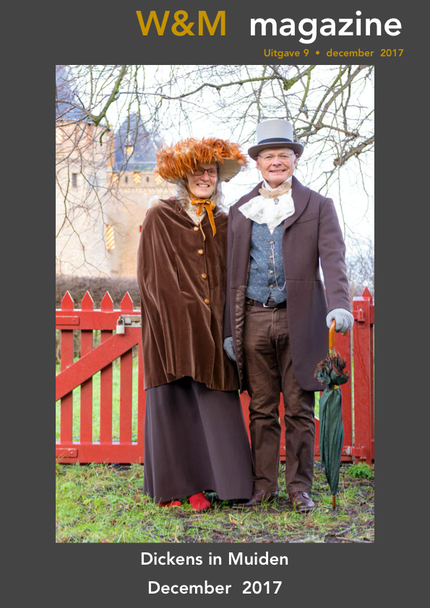 Magazine9 Dickens in Muiden, December 2017